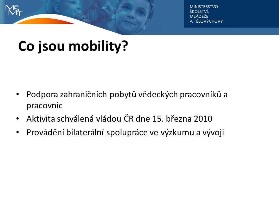 Co jsou mobility.