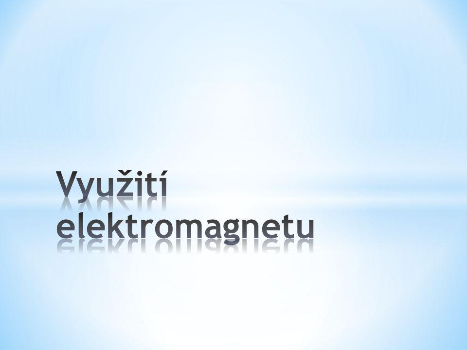 * je příkladem využití elektromagnetu v zařízení, které je důležitým prvkem v soustavách automatizace.