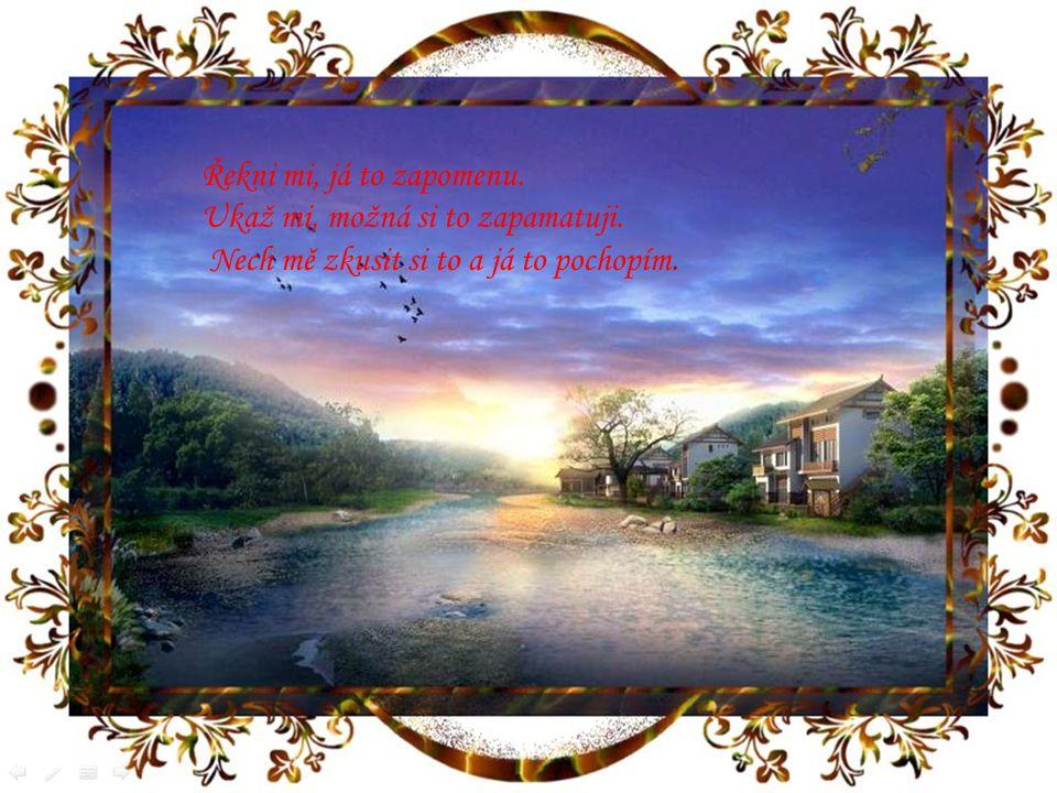 Dříve než se zítřek stane včerejškem, lidé často přehlédnou šance,které jim nabízí dnešek.