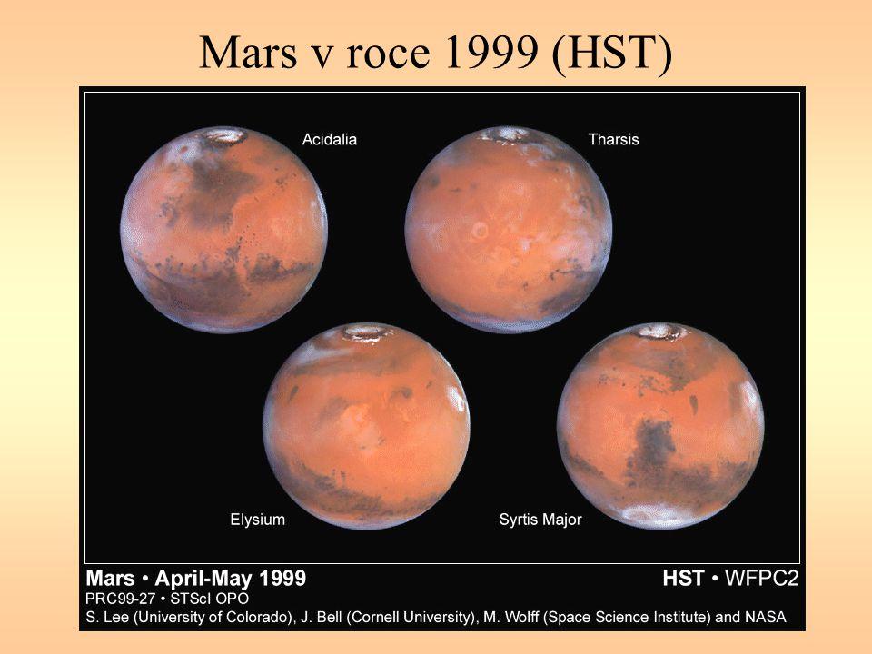 Mars v roce 1999 (HST)