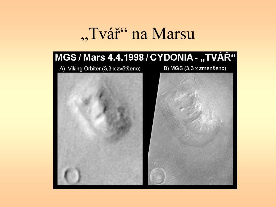 """""""Tvář"""" na Marsu"""
