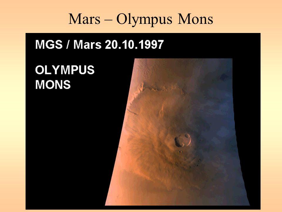 Mars – Olympus Mons