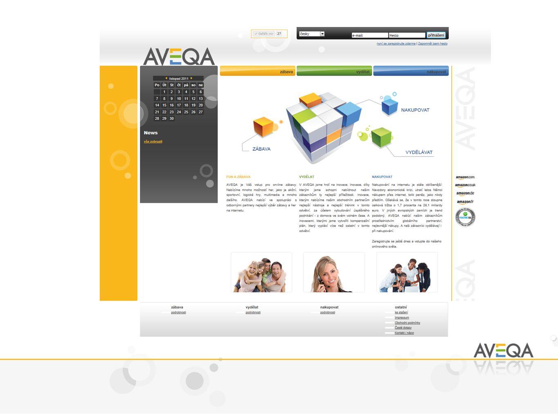 Použijte k zaplacení AVEQA kupón/voucher