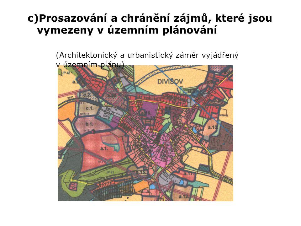 § 39 Územní rozhodnutí Stavební úřad v územním rozhodnutí : a)vymezí území pro navrhovaný účel b)stanoví podmínky k ochraně veřejných zájmů v území : -zabezpečí zejména soulad s cíli a záměry územního plánování -zabezpečí architektonické a urbanistické hodnoty v území -věcnou a časovou koordinaci jednotlivých staveb a jiných opatření v území požadavky k ochraně zdraví a životního prostředí c)rozhodne o námitkách účastníků řízení