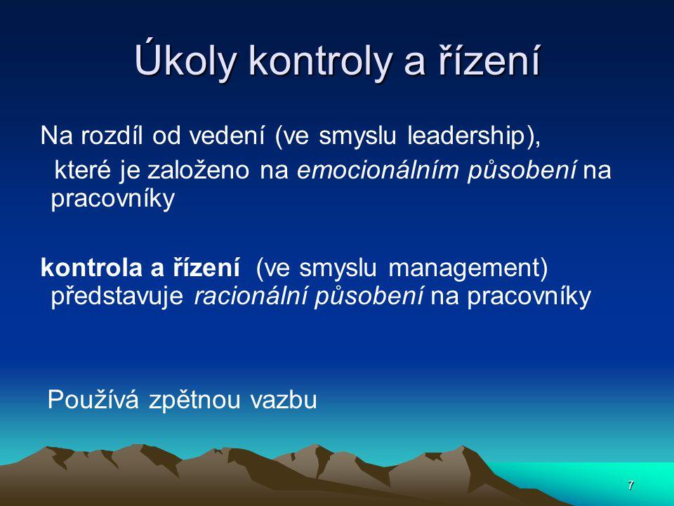 Na čem je založena psychický stabilita manažera.