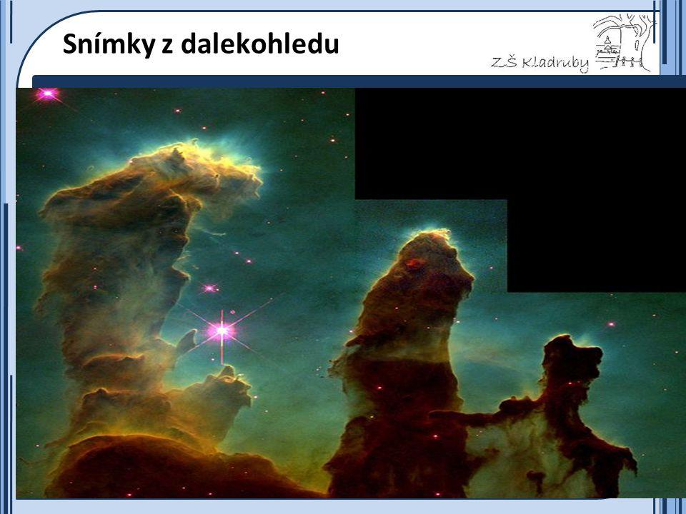 Základní škola Kladruby 2011  Snímky z dalekohledu