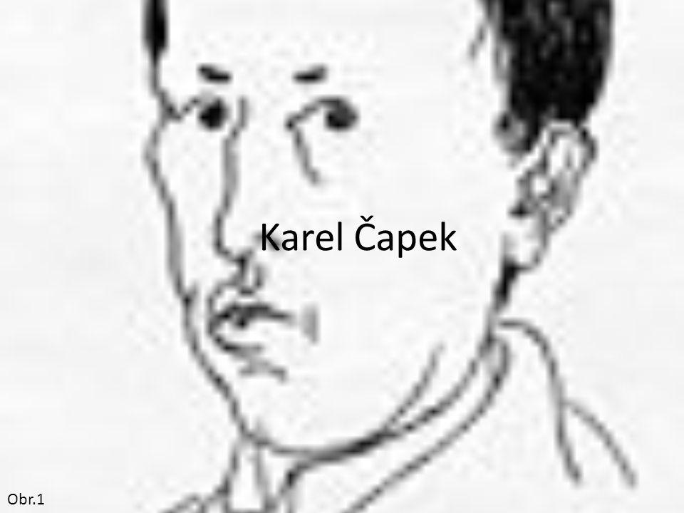 Karel Čapek Obr.1
