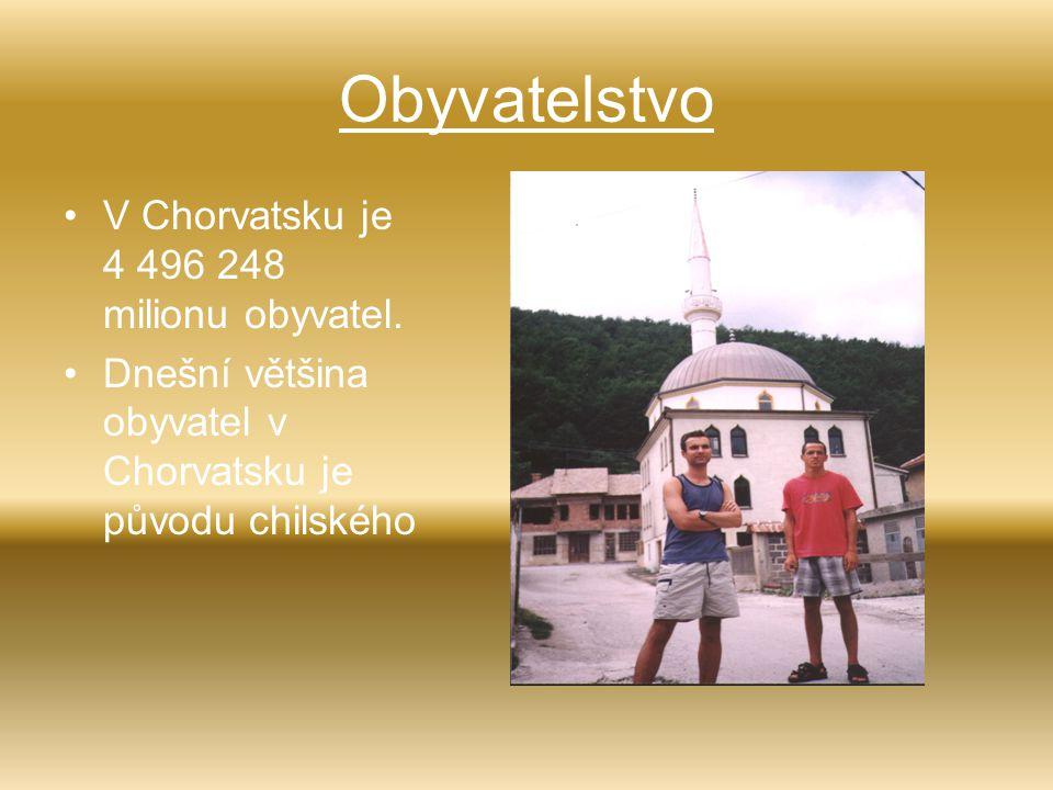 Obyvatelstvo V Chorvatsku je 4 496 248 milionu obyvatel. Dnešní většina obyvatel v Chorvatsku je původu chilského