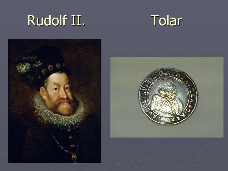 Vláda Rudolfa II.Vládl v letech 1576 – 1611. Panování Rudolfa II.
