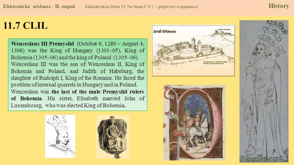 11.8 Test znalostí Správné odpovědi : 1.c 2.d 3.b 4.a Test na známku Elektronická učebnice - II.