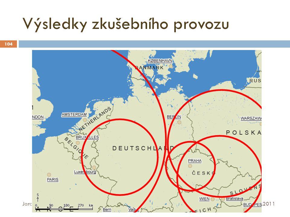 Výsledky zkušebního provozu 16.10.2011 Jaroslav Srp, DATAKON 2011 104