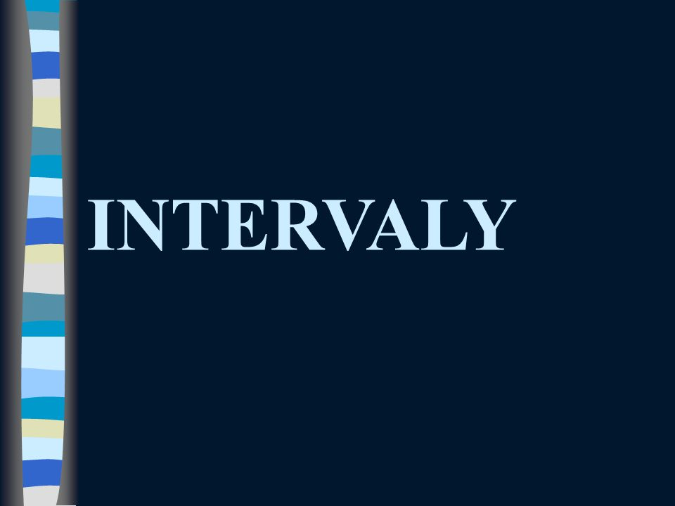 INTERVALY