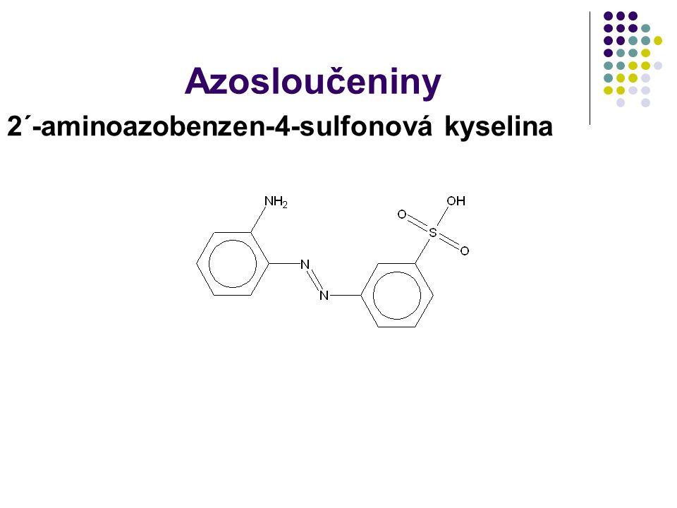 Azosloučeniny 2´-aminoazobenzen-4-sulfonová kyselina