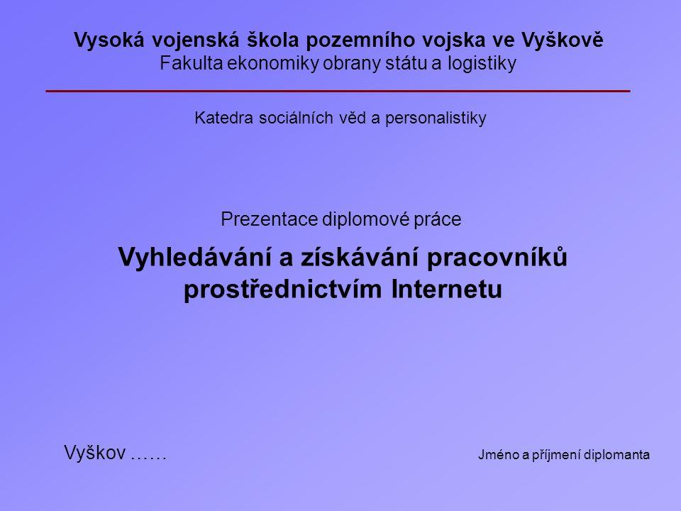 Vítejte v programu podpory vytváření powerpointových prezentací pro obhajobu diplomových prací. Prohlížíte si prezentaci Příklad, kde získáte praktick