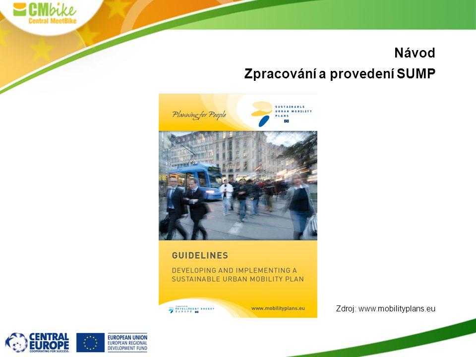 Návod Zpracování a provedení SUMP Zdroj: www.mobilityplans.eu