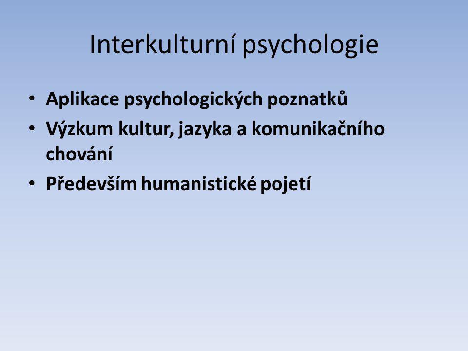 Bariéry v interkulturní komunikaci Stereotypy (atribuce, předsudky) Etnofaulismy (neoficiální označení příslušníků jiného národa – př.