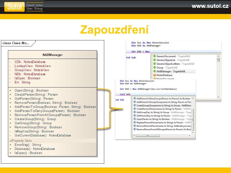 www.sutol.cz Zapouzdření