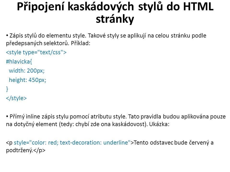 CSS - příklad NADPIS GYMTRI