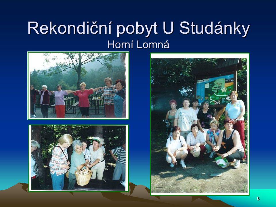 6 Rekondiční pobyt U Studánky Horní Lomná