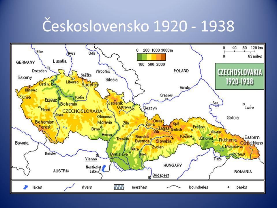 Československo 1920 - 1938