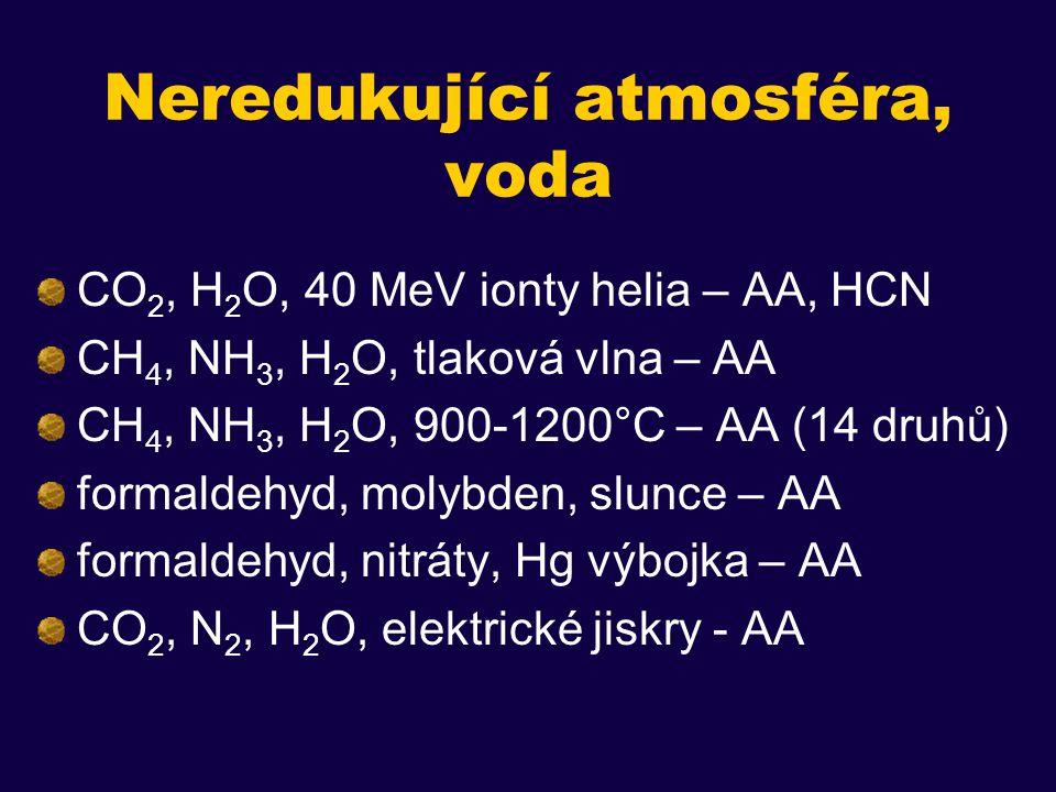 Transfer organických látek z kosmického prostoru Oró J.