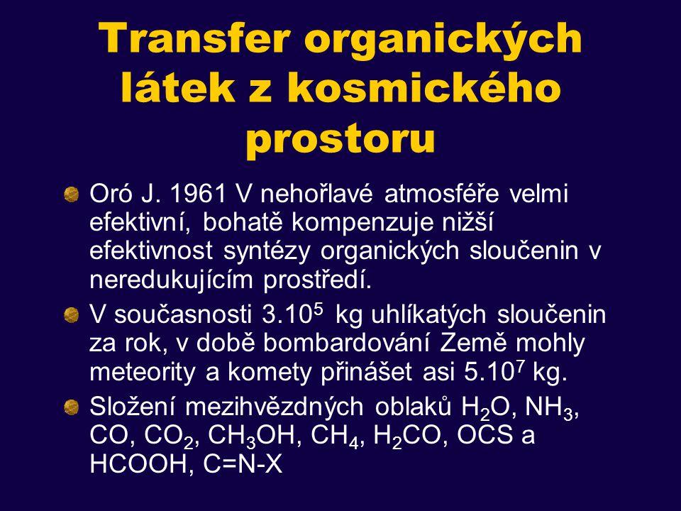Další problémy s autoreplikací Obousměrně funguje jen s určitými modifikovanými oligonukleotidy (tetranukleoside trophosphoramidat 5´-G NHP C NHP G NHP C-3´), hexamerní templát a trimerní substráty (problém s velkým počtem trimerů).