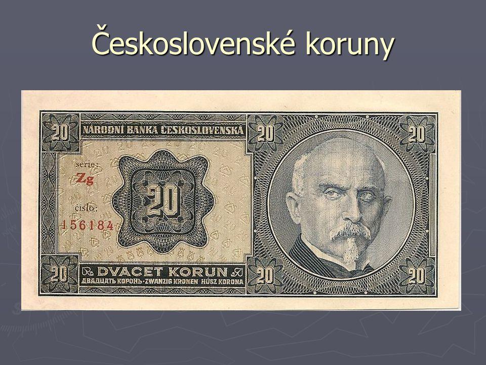 Československé koruny