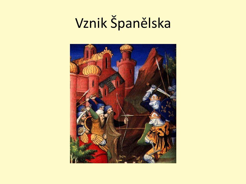Španělsko ve středověku po rozpadu říše římské vznik vizigótského království 8.