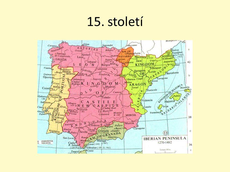 Zámořské objevy Španělsko získalo nová území do Evropy se dostává ohromné bohatství (drahé kovy) – poklesla cena peněz nové plodiny