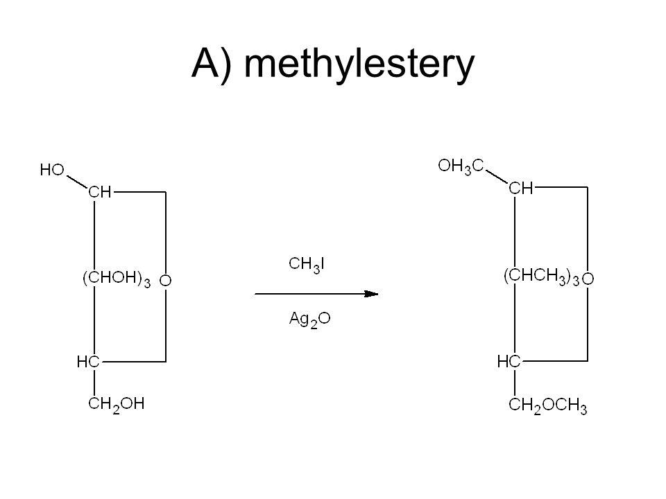A) methylestery