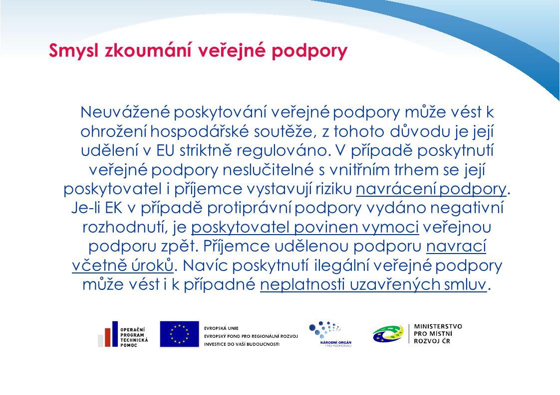 Blokové výjimky malé a střední podniky –Nařízení EK 70/2001 o aplikaci čl.