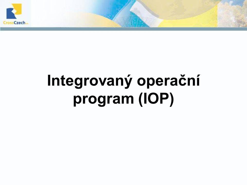 Integrovaný operační program (IOP)