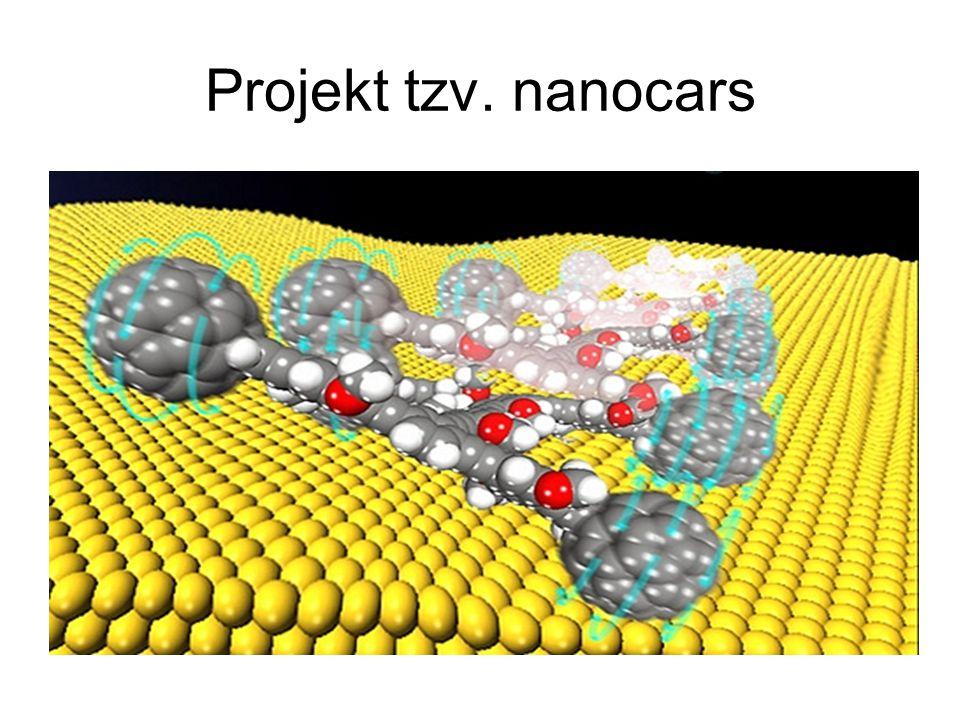 Projekt tzv. nanocars