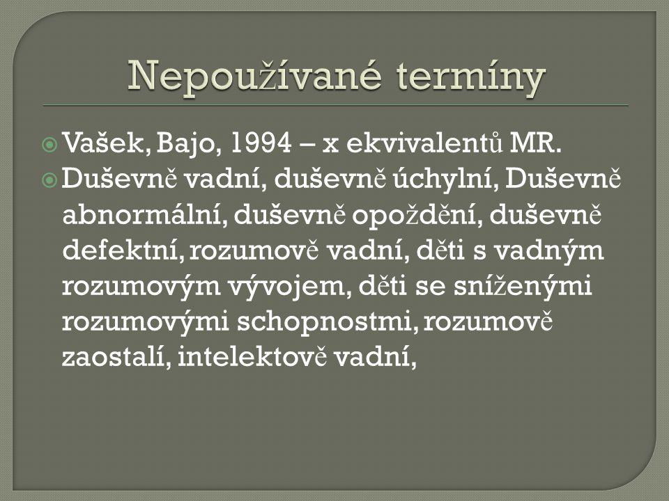  Vašek, Bajo, 1994 – x ekvivalent ů MR.