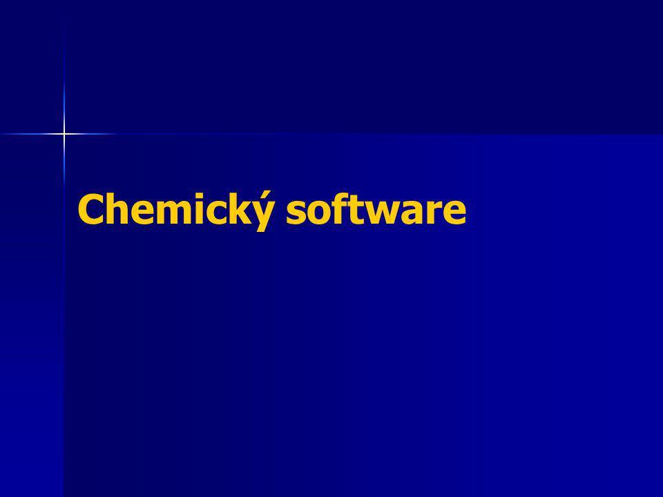 Chemický software