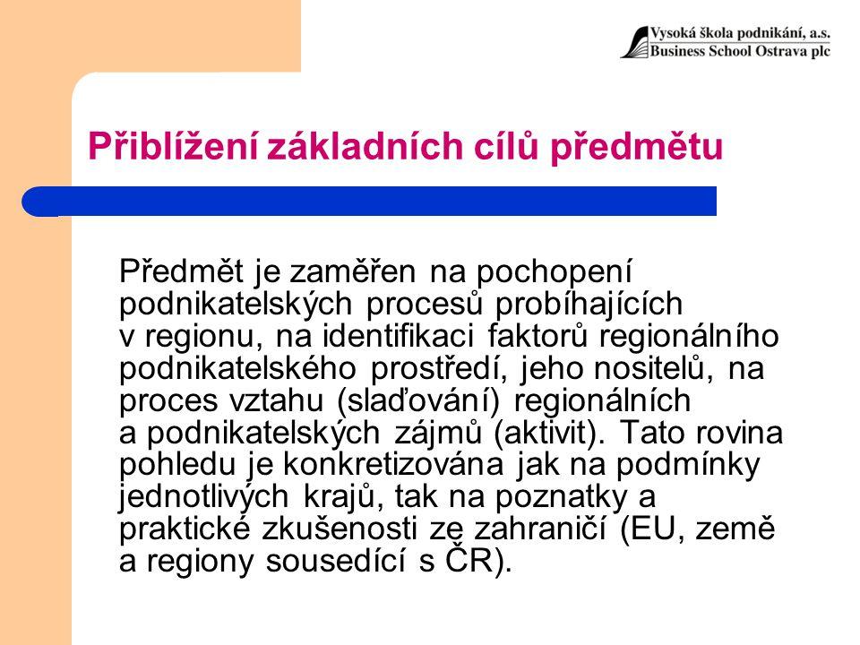 Při samostudiu se zaměřte na: Změny v ČR po roce 1989 (transformační problémy) Změny v ČR po vstupu do EU Dané změny diskutujte z pohledu – Občana (zaměstnance), – Občana (podnikatele), – Studenta.