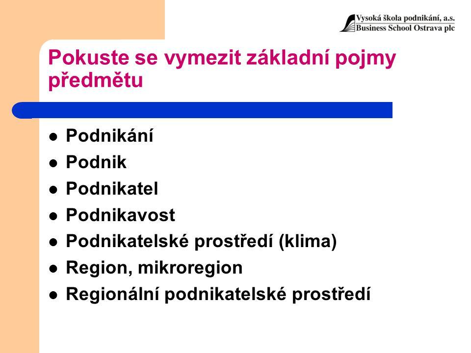 Zdroje dat pro zjišťování a vyhodnocování regionálních rozdílů Data jsou získávána ze statistických souborů ČSÚ nebo od resortních ministerstev.