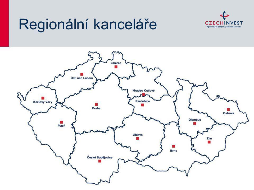 Regionální kanceláře