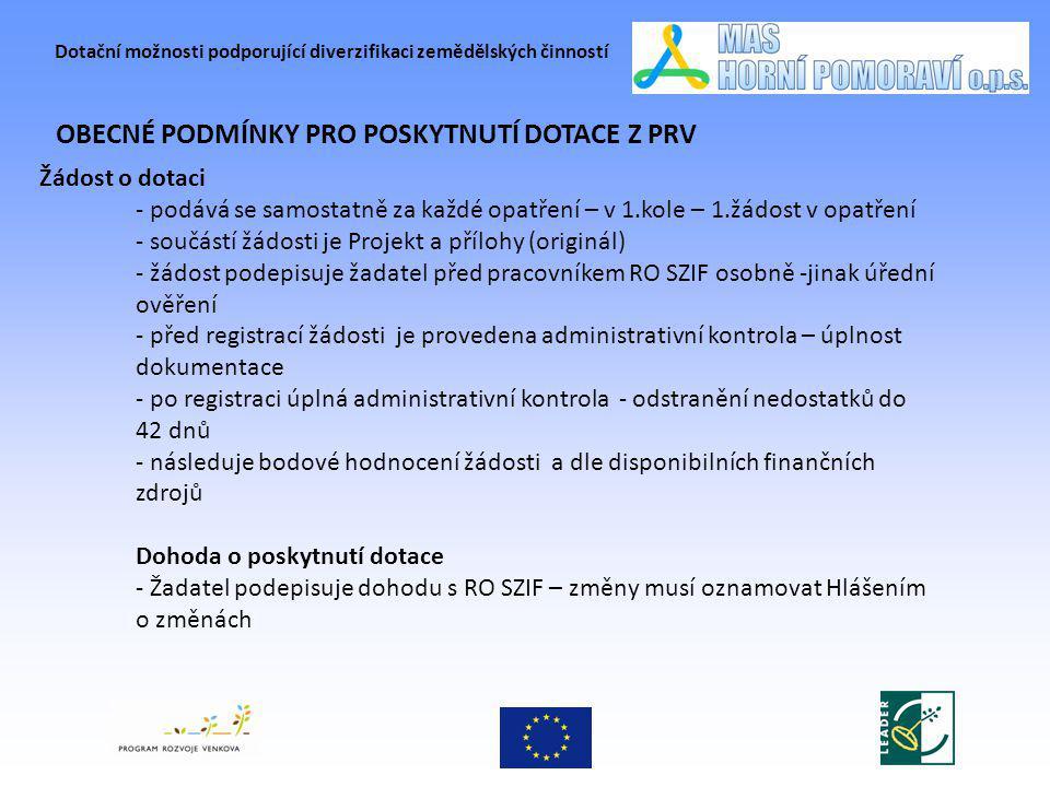 Dotační možnosti podporující diverzifikaci zemědělských činností PŘÍKLADY REALIZOVANÝCH PROJEKTŮ Farma Morava spol.