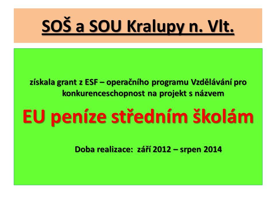 SOŠ a SOU Kralupy n.Vlt.