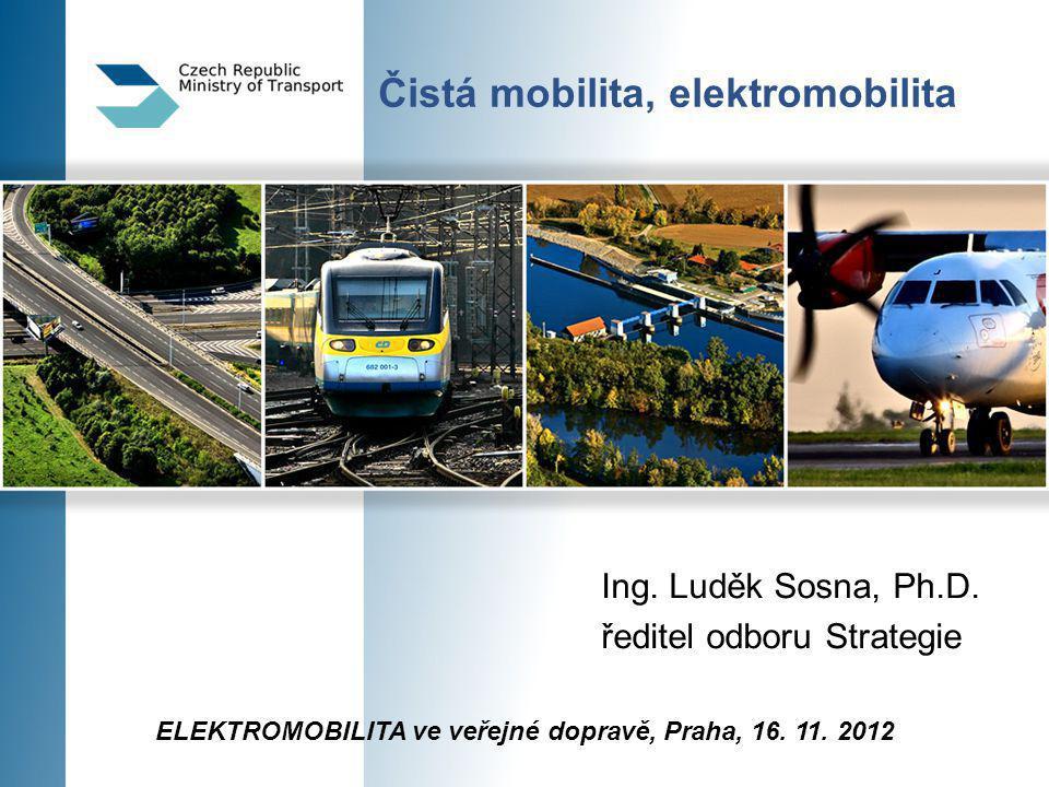 Čistá mobilita, elektromobilita Ing. Luděk Sosna, Ph.D.