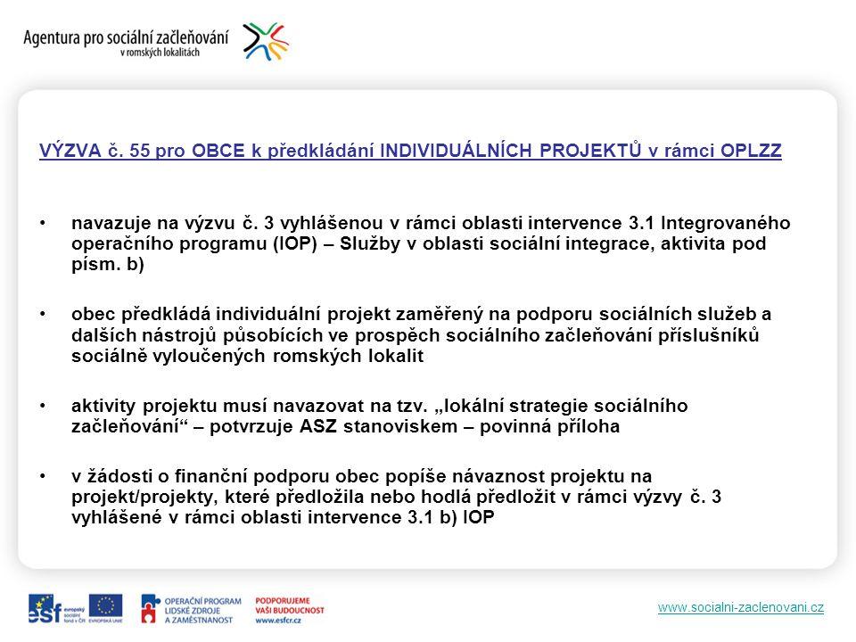 www.socialni-zaclenovani.cz VÝZVA č.