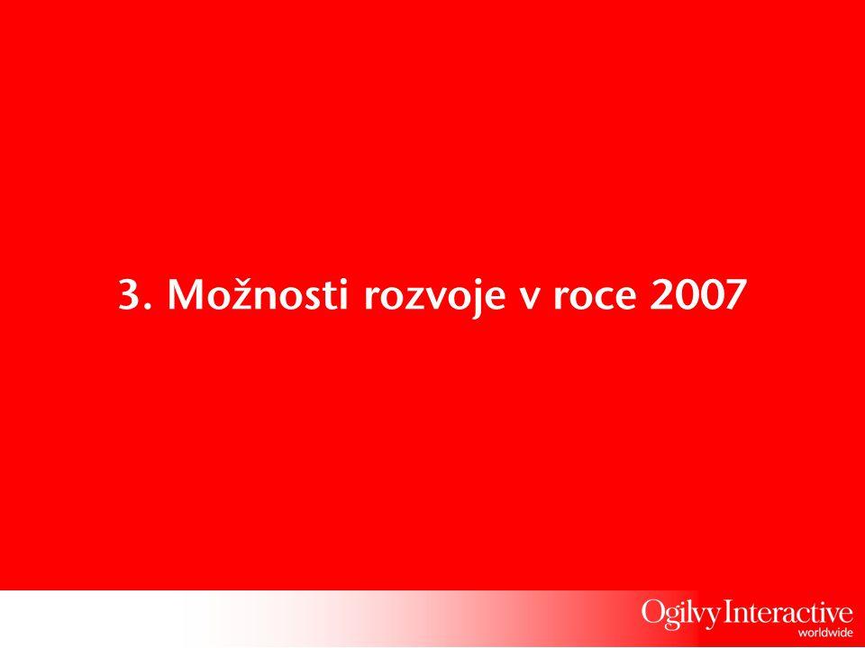 3. Možnosti rozvoje v roce 2007