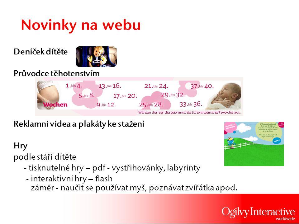 Novinky na webu Deníček dítěte Průvodce těhotenstvím Reklamní videa a plakáty ke stažení Hry podle stáří dítěte - tisknutelné hry – pdf - vystřihovánk