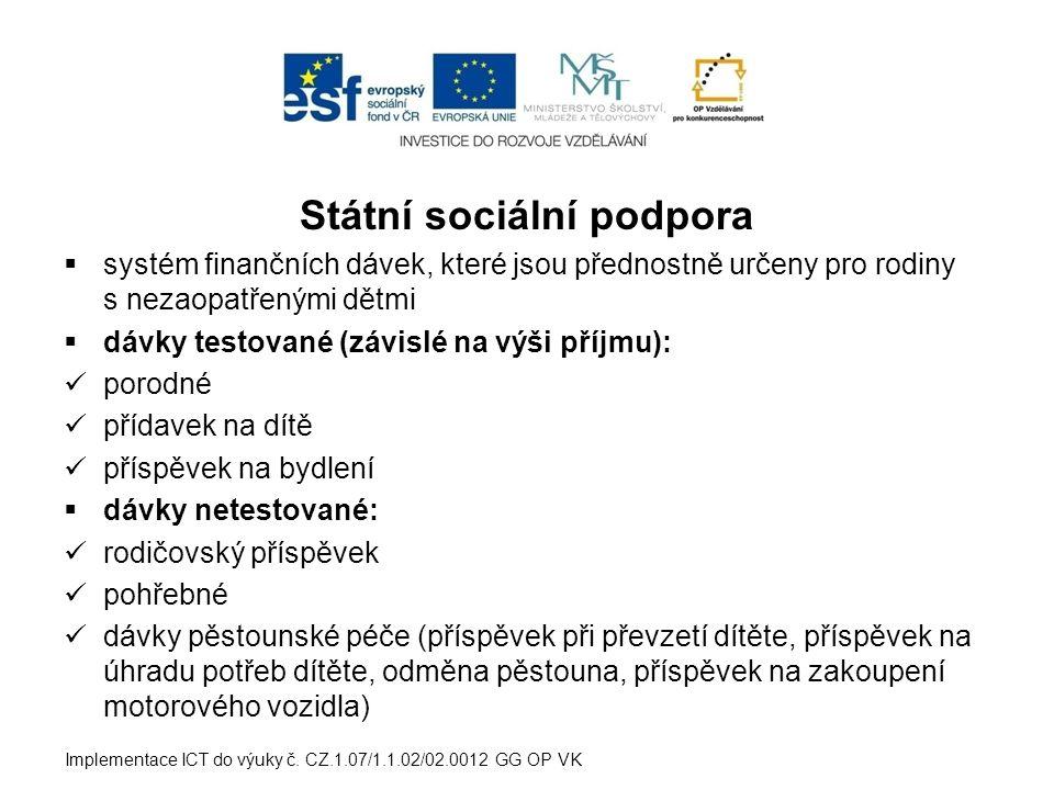 ODMĚNA PĚSTOUNA Odměna pěstouna je pravidelná měsíční dávka, je projevem určitého společenského uznání osoby pečující o dítě v PP.