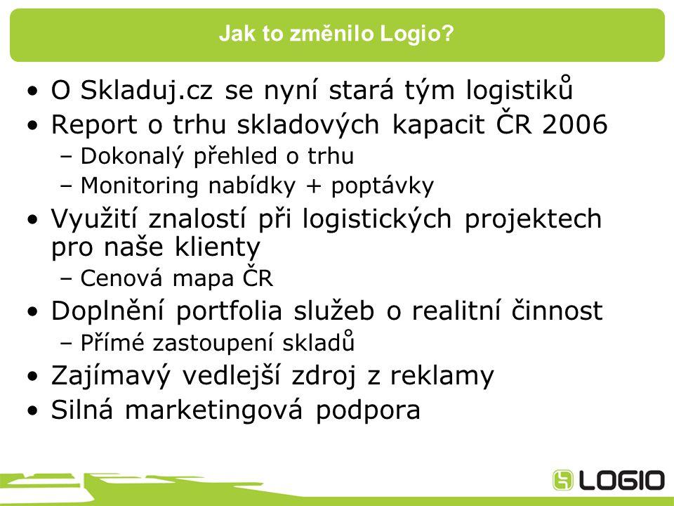 Jak to změnilo Logio.