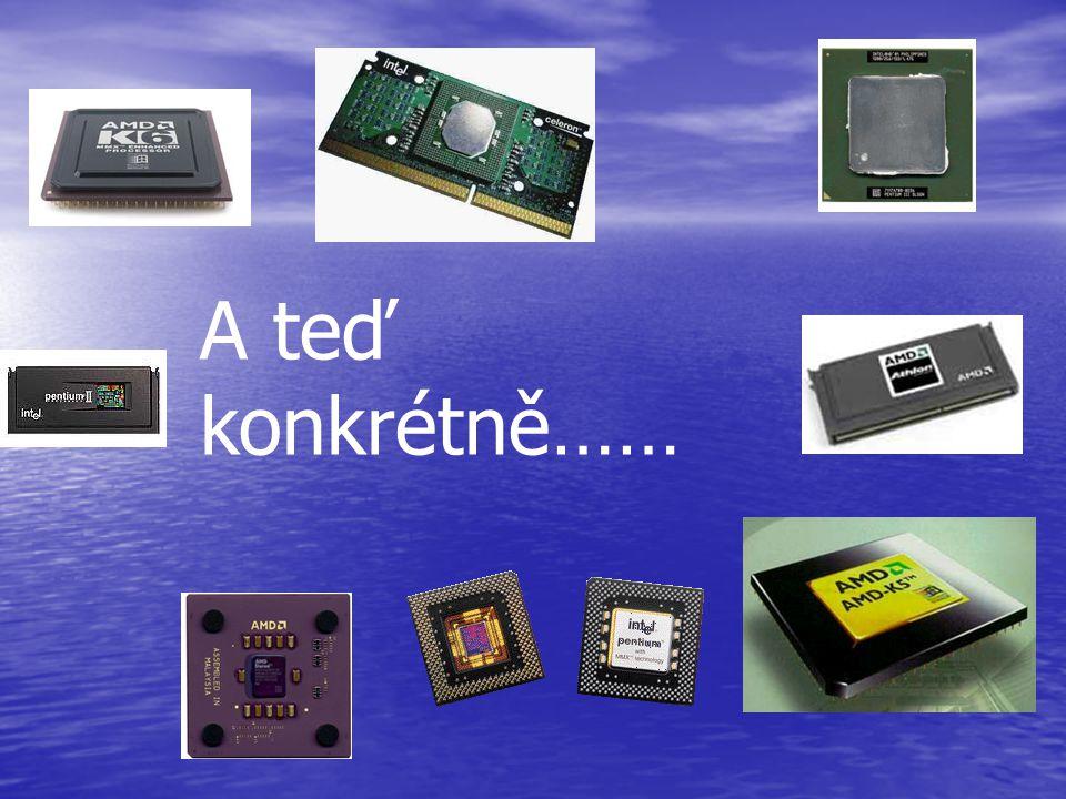"""IDT Dalším výrobcem """"klonů"""" procesorů x86 je u nás málo známá společnost IDT (Integrated Device Technology). Výrobou procesorů se zabývá dceřiná spole"""