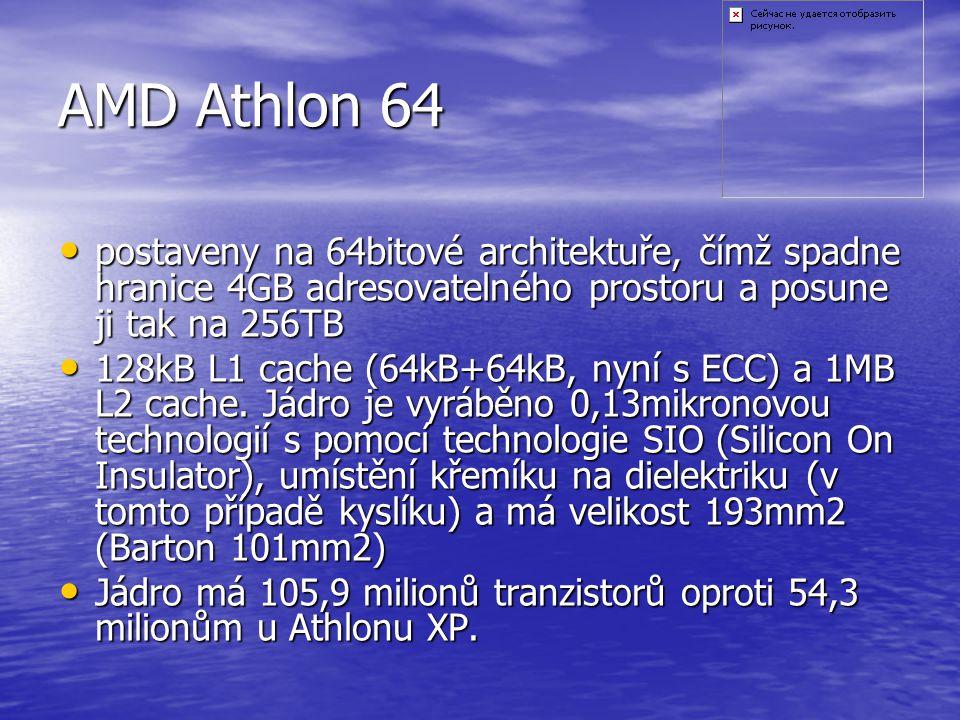 AMD Duron Morgan odvozeno od procesorů Athlon XP s jádrem Palomino (1/4 cache) odvozeno od procesorů Athlon XP s jádrem Palomino (1/4 cache) jádro Mor