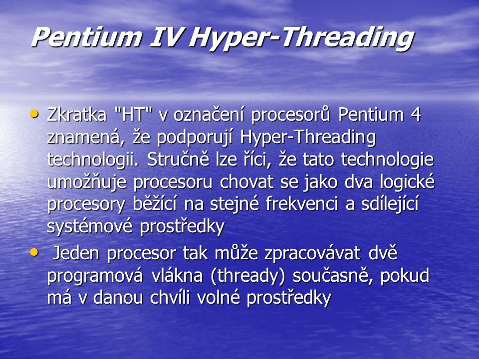 Pentium IV Northwood frekvencemi od 2GHz již používá nové jádro s kódovým názvem Northwood frekvencemi od 2GHz již používá nové jádro s kódovým názvem