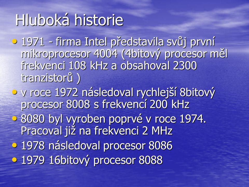 Procesory Historie vývoje Historie vývoje Cyrix Cyrix IDT IDT INTEL INTEL AMD AMD